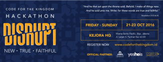 Hackathon Code for The Kingdom Jakarta 2016